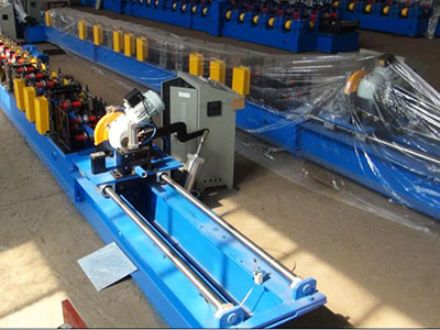 Round pipe roll forming machine
