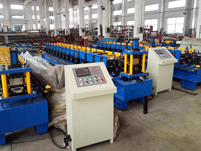 xsj 600 Decking forming machine
