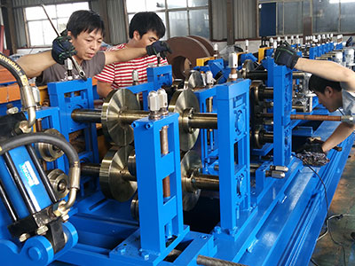 Double sheet Forming Machine